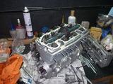 ヒロ爺号エンジン腰上組立て (3)