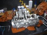 まっきーレーサー用エンジン腰下組立て (3)
