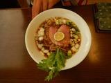 麺麓にて遅めの昼食 (2)