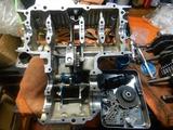 沖縄A様CB400内燃機加工完了アッパーケース下拵え210716 (7)