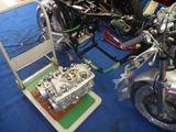 まっきーレーサー号Yer2エンジン搭載 (1)
