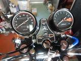 京都K様CB400スピード、タコメーター取付 (1)