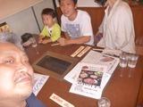 坂本3兄弟と甥とで焼肉