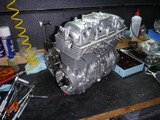 1号機エンジン分解&組立て (7)
