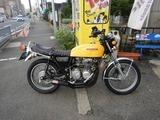CB400沖縄A号エンジンOH入庫210614 (1)