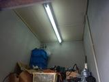 コンプレッサー室照明設置 (4)
