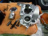 Z50Zエンジン腰上OH組立 (6)
