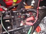 まっきーレーサー号バッテリー充電