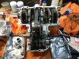 千葉H号用エンジン組立て開始190705 (3)