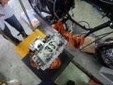 GTH号エンジン復旧搭載 (2)