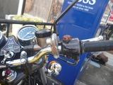 旧2号機ヘルメットホルダー取付け (4)