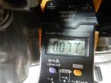 半袖一家Y様CB400F発電、充電チェック (8)