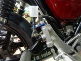 23号機リアブレーキ圧力スイッチ取付け (2)