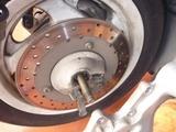 マジェスティ250Cパンク修理 (3)