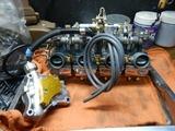 CB400国内398cc25号機用キャブレター組み立て (9)