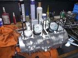 1号機内燃機加工から仕上がりからの組立て (3)