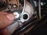1号機乾式クラッチオイル漏れ修理160810 (3)