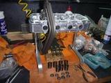 500cc化車両本格的に作業開始 (2)