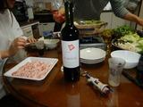 旧嫁と新嫁とカニ鍋&赤ワイン退治 (3)