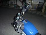 青い稲妻号ハンドルカバーとETCセットアップ (1)
