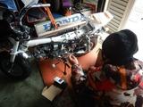 モンキーZ50J配線修理
