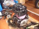CB250Nエンジン組立て (4)