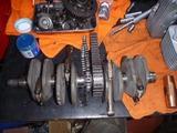 ベホリレーサーエンジン復旧作業 (2)