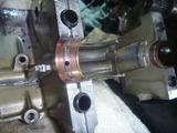 CB250N腰下分解完了 (3)
