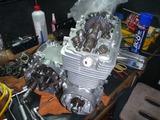 398コンプリートエンジンヘッド搭載