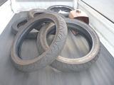 原因判明の為タイヤ廃棄
