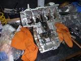 4号機エンジン組立て開始 (3)