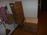 ワインの木箱