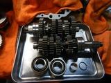 CB400F国内408ccCP20号機用エンジン臓物整備 (1)