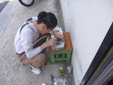 妄想坦々号シリンダーヘッドポート研磨開始 (1)