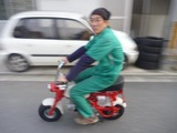 M型モンキー試運転 (1)