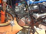 DR250Sエンジン交換 (3)