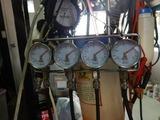 CB400F逆車408キャブレター同調調整とオイル漏れ修理210924 (2)