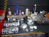 5年熟成398エンジン塗装完了