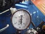 黄色い君レーサー用エンジン実圧縮圧力測定 (3)