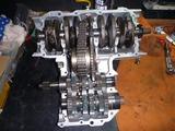 398、1号機エンジン組立て (1)
