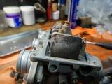 高槻O様CB400キャブレター分解部品交換210616 (2)