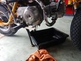 Z50Zエンジンオイル交換 (2)