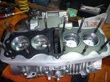 398改458エンジン組立て搭載 (2)
