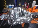坦々号エンジン組立て (4)