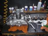 まっきーレーサー用エンジンVer2シリンダー挿入 (1)