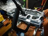 CB400F半袖一家Y様号内燃機加工終了腰上組み立て (4)
