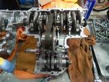 まっきーR号エンジン腰下組立 (3)