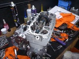 ベホリレーサーエンジン復旧作業 (10)