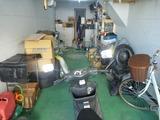 ガレージの整理