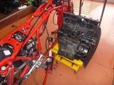CB1100R エンジン取外し (5)